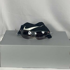 NIKE Cross Trainer Sunglass Wolf Grey Silver frame